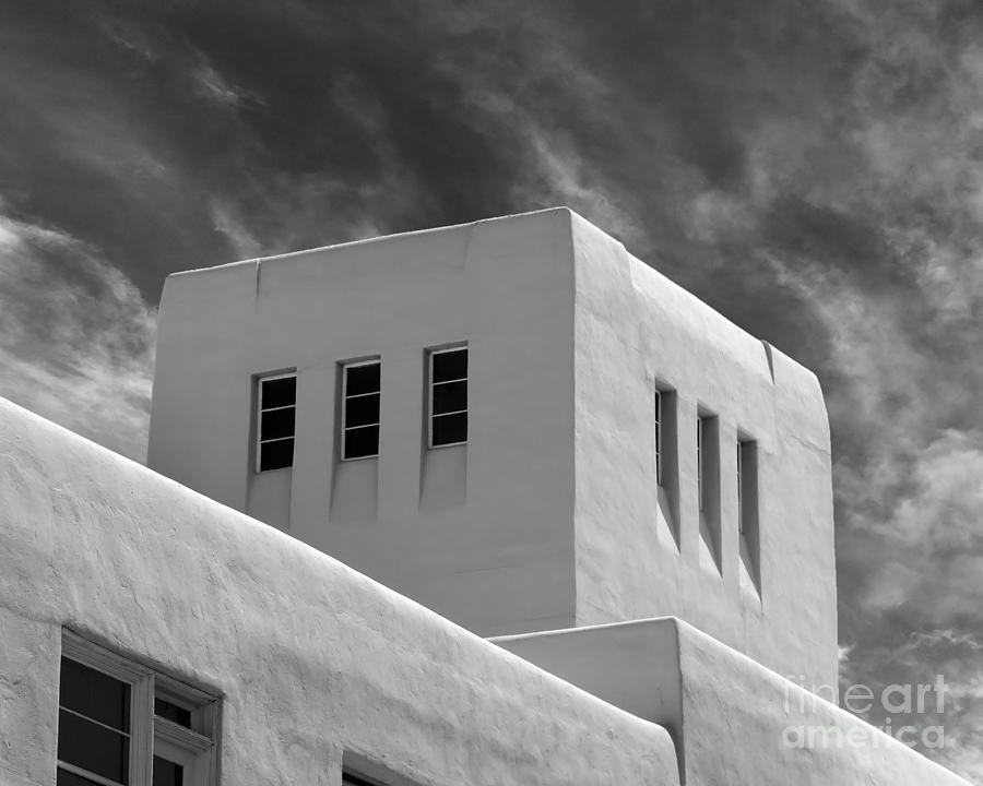 Albuquerque Photograph - University Of New Mexico Mesa Vista Hall by University Icons