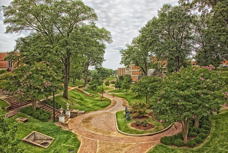 University Of North Alabama Photograph - University of North Alabama Campus by Mountain Dreams