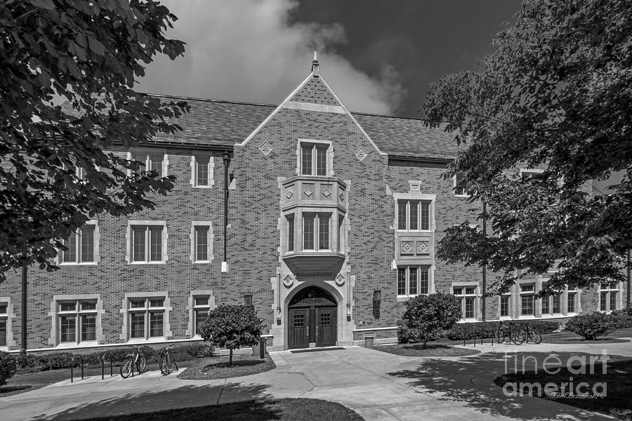 Big East Conference Photograph - University Of Notre Dame Coleman- Morse Center by University Icons