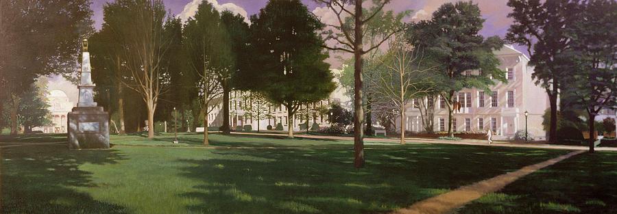 Usc Painting - University Of South Carolina Horseshoe 1984 by Blue Sky