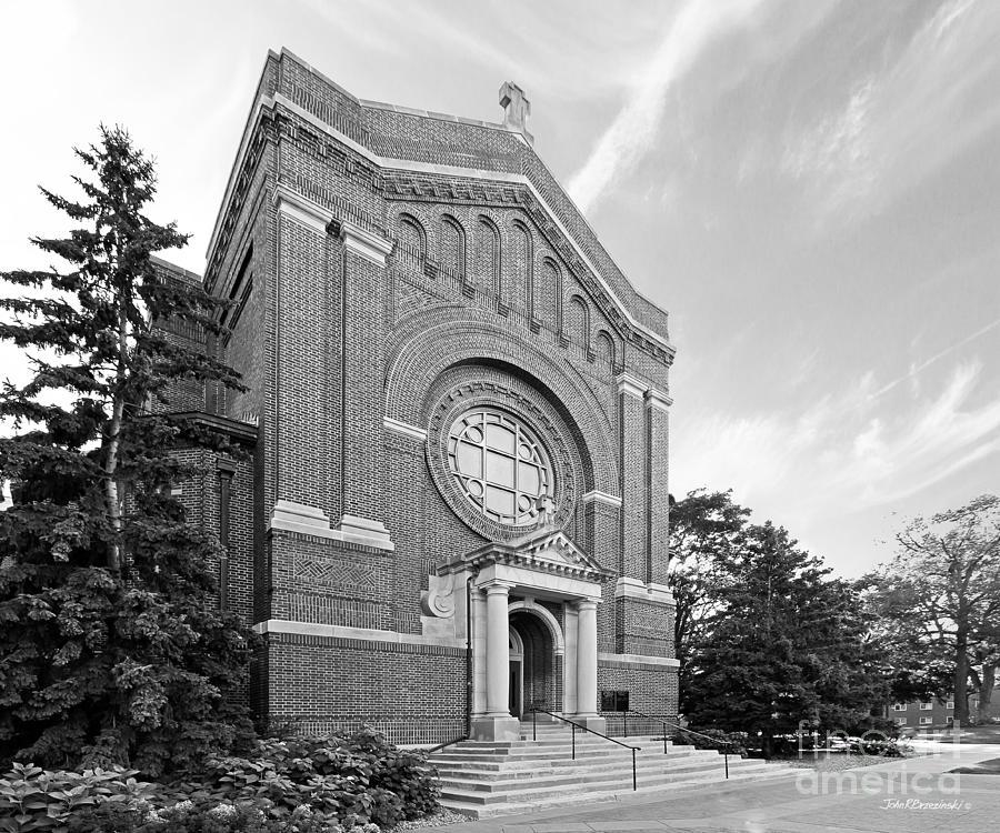 Minnesota Photograph - University Of St. Thomas Chapel Of St. Thomas Aquinas by University Icons