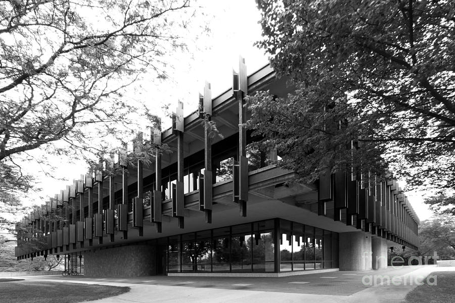 Eco U Photograph - University Of Wisconsin Green Bay Rose Hall by University Icons