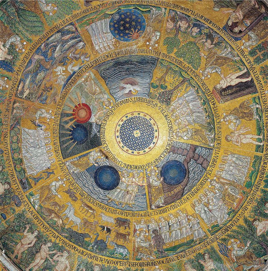 Decoration Photograph - Unknown Artist, Cupola Of The Creation by Everett