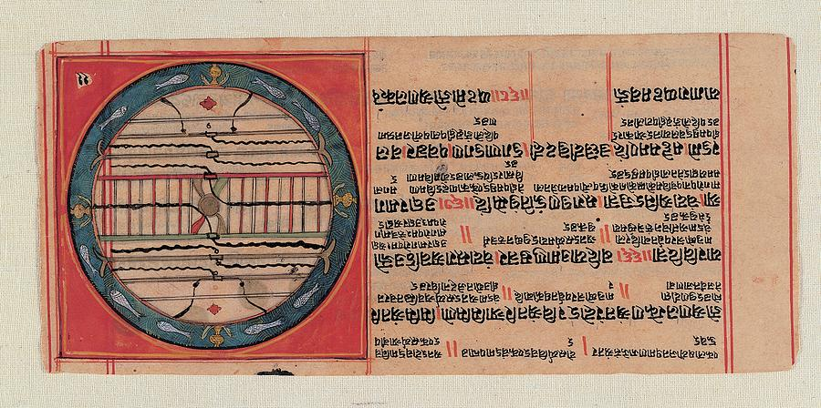 Chart Photograph - Unknown, Chart Of The Ja Jain Cosmos by Everett