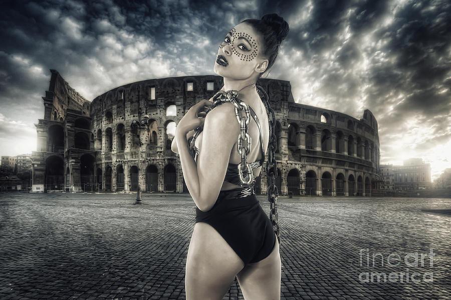 Rome Photograph - Unleashed by Yhun Suarez