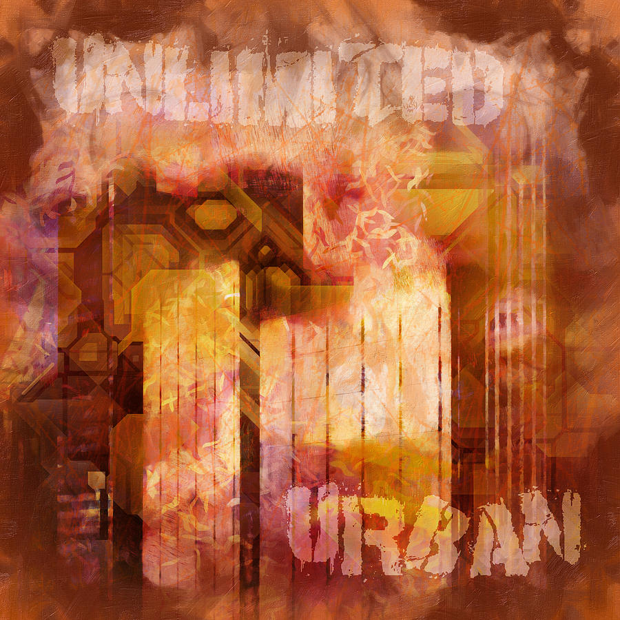 Unlimited Painting - Unlimited Urban by Lutz Baar