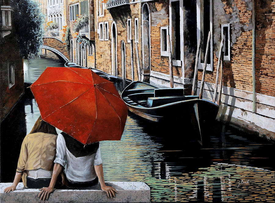 Guardando Il Canale Painting