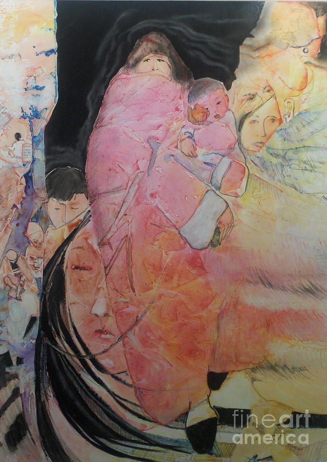 Unspeakable Painting by Elizabeth Carr
