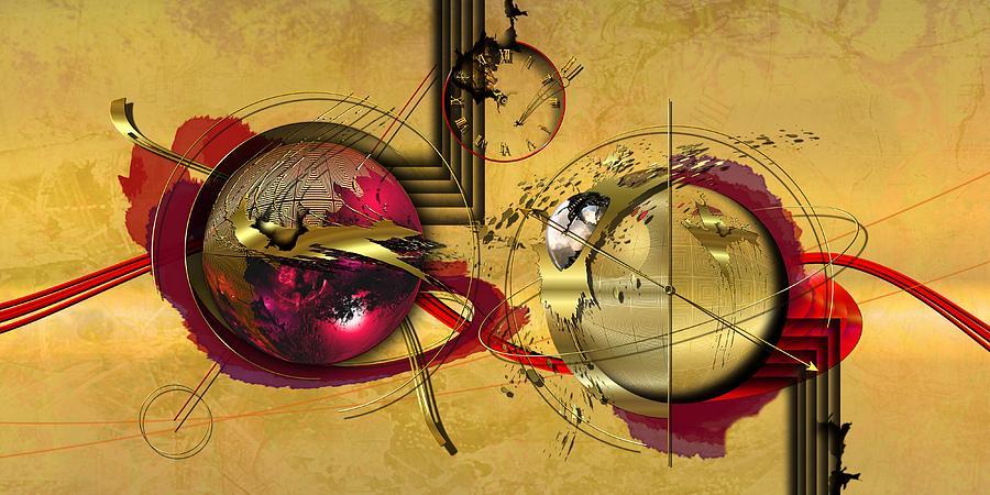 Planet Digital Art - Unstable Stability by Franziskus Pfleghart