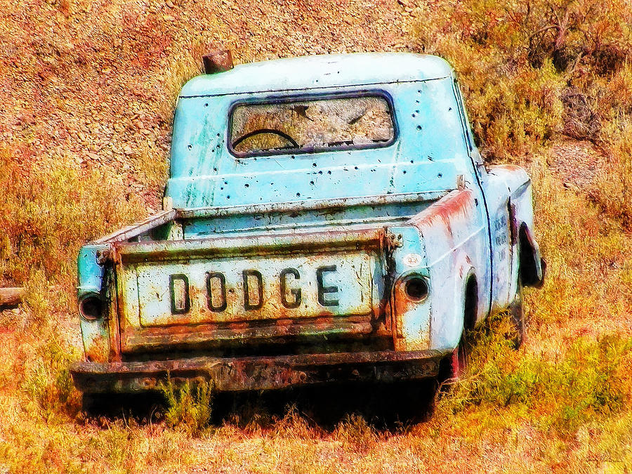 Dodge Painting - Unsuccessful Dodge by Sandy MacGowan