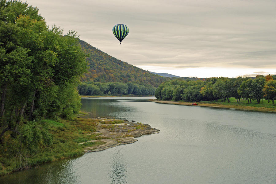 Balloon Photograph - Untethered by Jim Cook