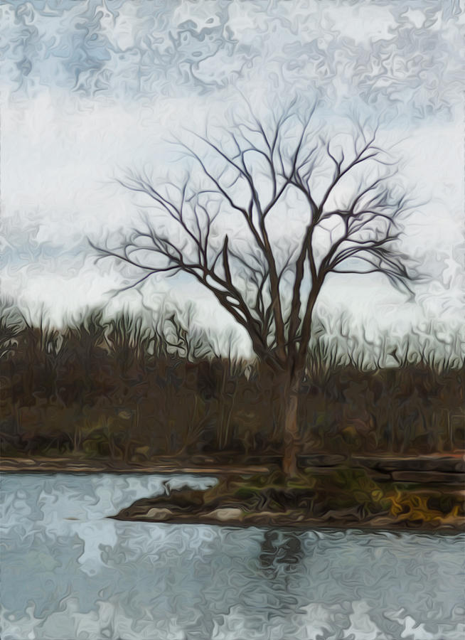 Botany Painting - Until Spring by Jack Zulli