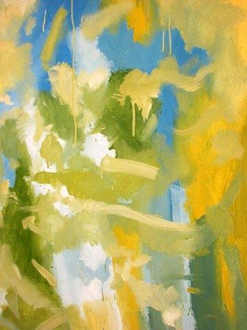 Landscape Painting - Untitled #10 by Steven Miller