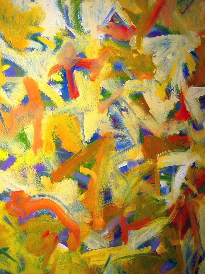 Landscape Painting - Untitled #20 by Steven Miller