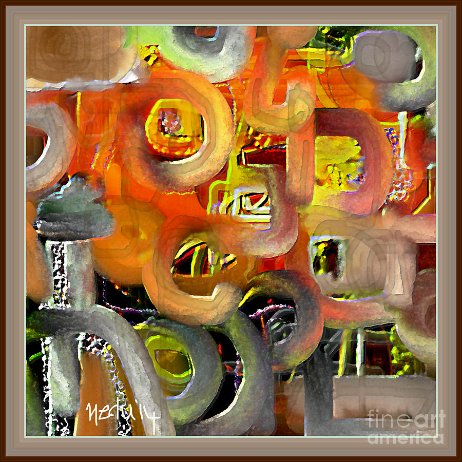 Canvas Prints Painting - Untitled 405 by Nedunseralathan R