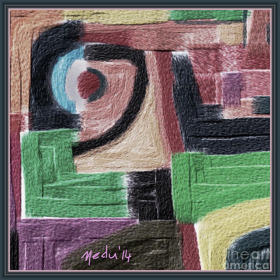 Art Prints Painting - Untitled 449 by Nedunseralathan R