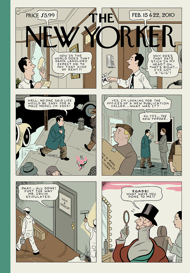 Adaptation Painting by Adrian Tomine