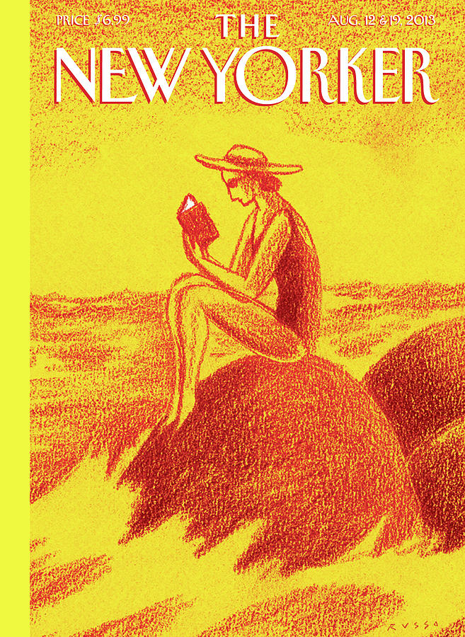 New Yorker August 12th, 2013 Painting by Anthony Russo