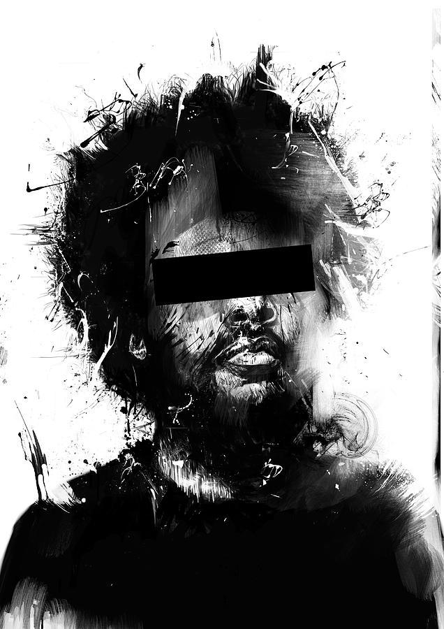 Man Mixed Media - Untitled by Balazs Solti