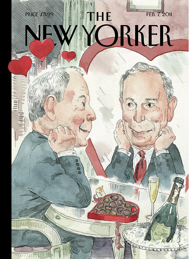 New Yorker February 7th, 2011 Painting by Barry Blitt