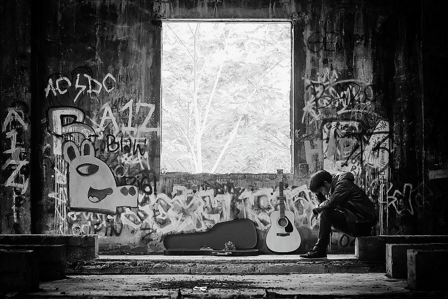 Graffiti Photograph - Untitled by Bayu Perwiranegara