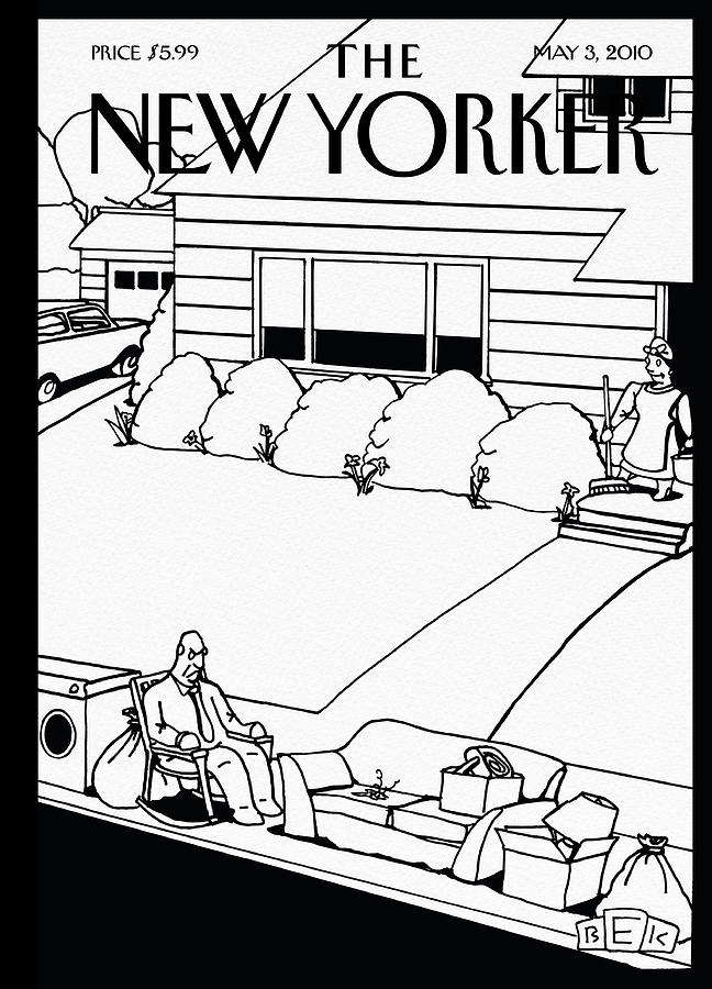 New Yorker May 3rd, 2010 Painting by Bruce Eric Kaplan