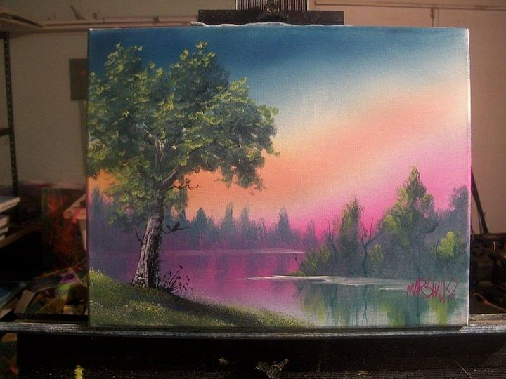 Landscape Painting - Untitled by Chad Marshall