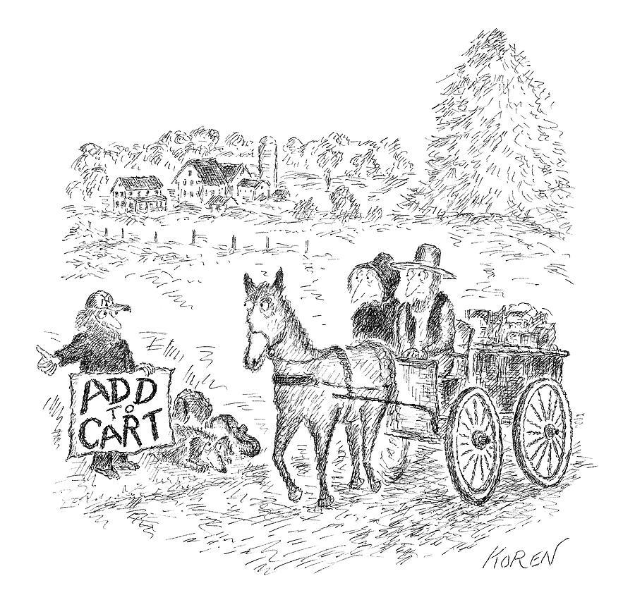 New Yorker September 12th, 2016 Drawing by Edward Koren