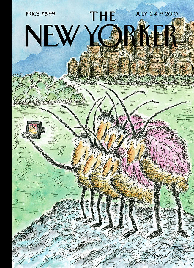 New Yorker July 12th, 2010 Painting by Edward Koren