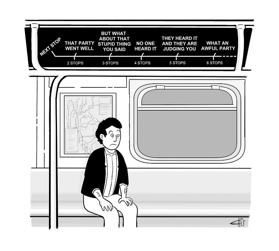 New Yorker December 12th, 2016 Drawing by Ellis Rosen