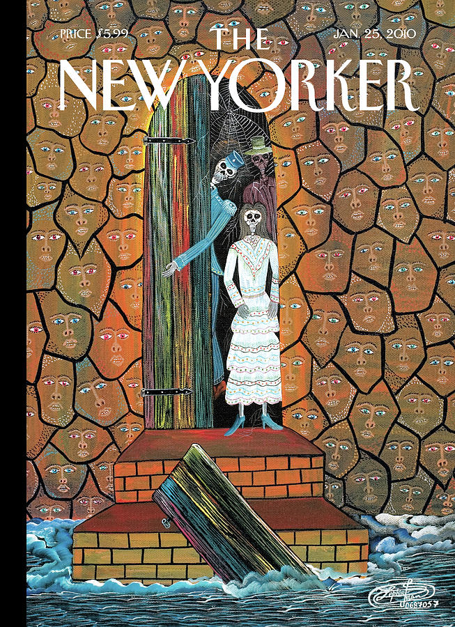 New Yorker January 25th, 2010 Painting by Frantz Zephirin