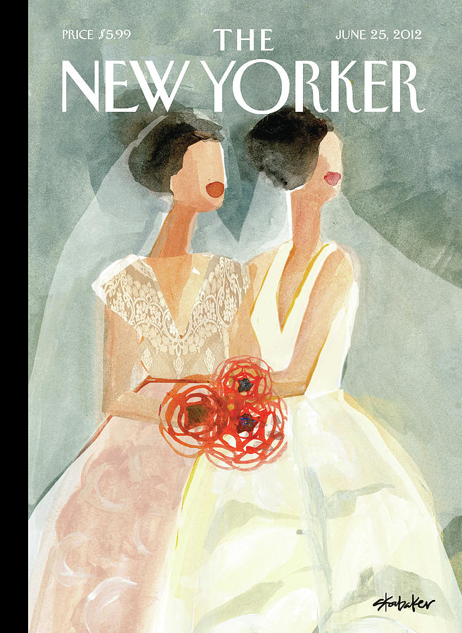 New Yorker June 25th, 2012 Painting by Gayle Kabaker