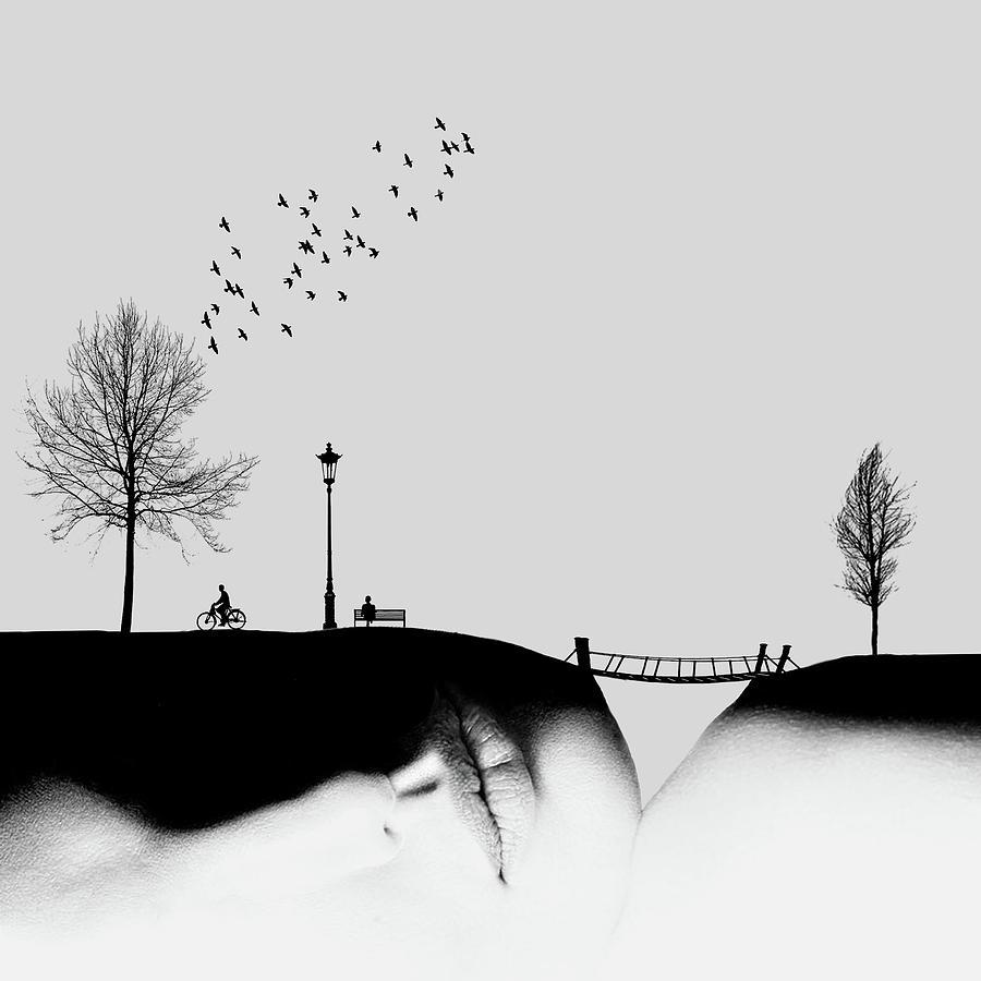Surreal Photograph - Untitled by Hadi Malijani