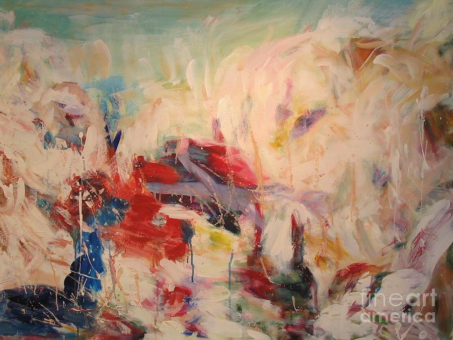 Seascape Painting - untitled II by Fereshteh Stoecklein