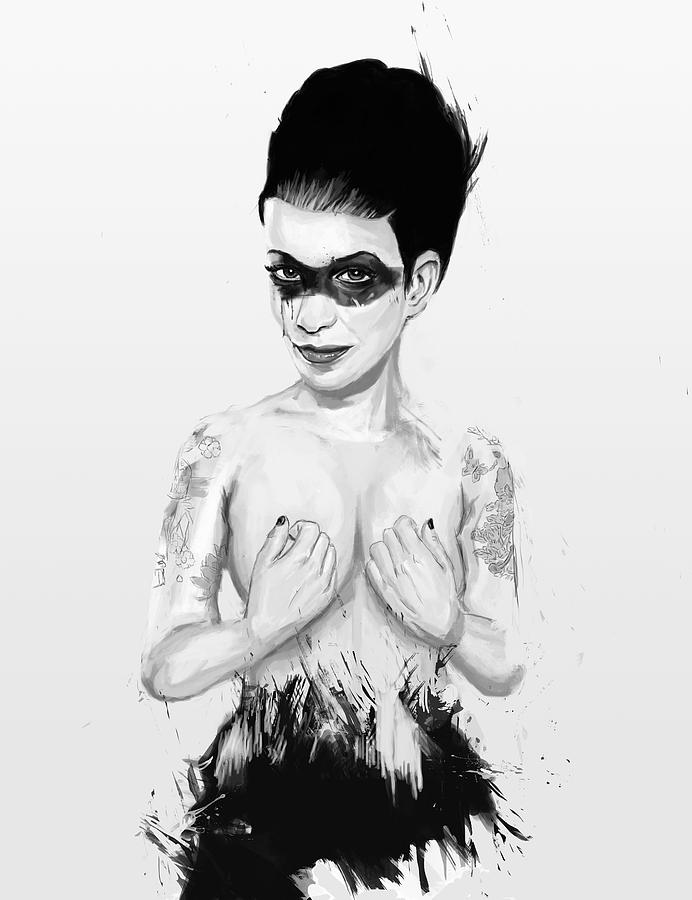 Woman Digital Art - untitled III by Balazs Solti