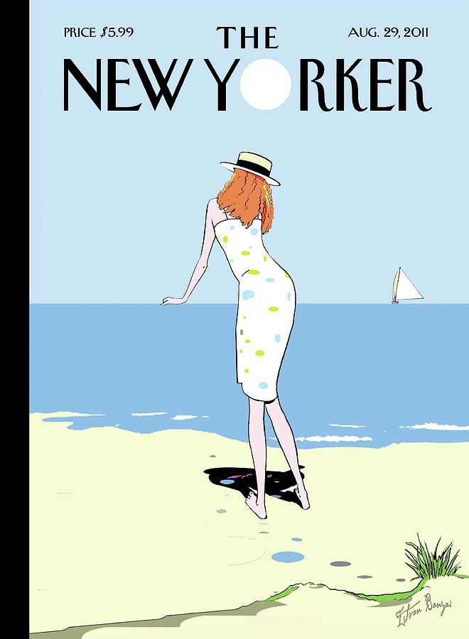 New Yorker August 29th, 2011 Painting by Istvan Banyai