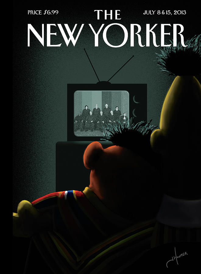 New Yorker July 8th, 2013 Painting by Jack Hunter