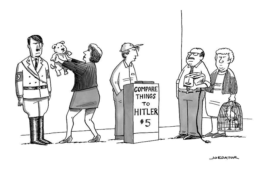 New Yorker September 5th, 2016 Drawing by Joe Dator