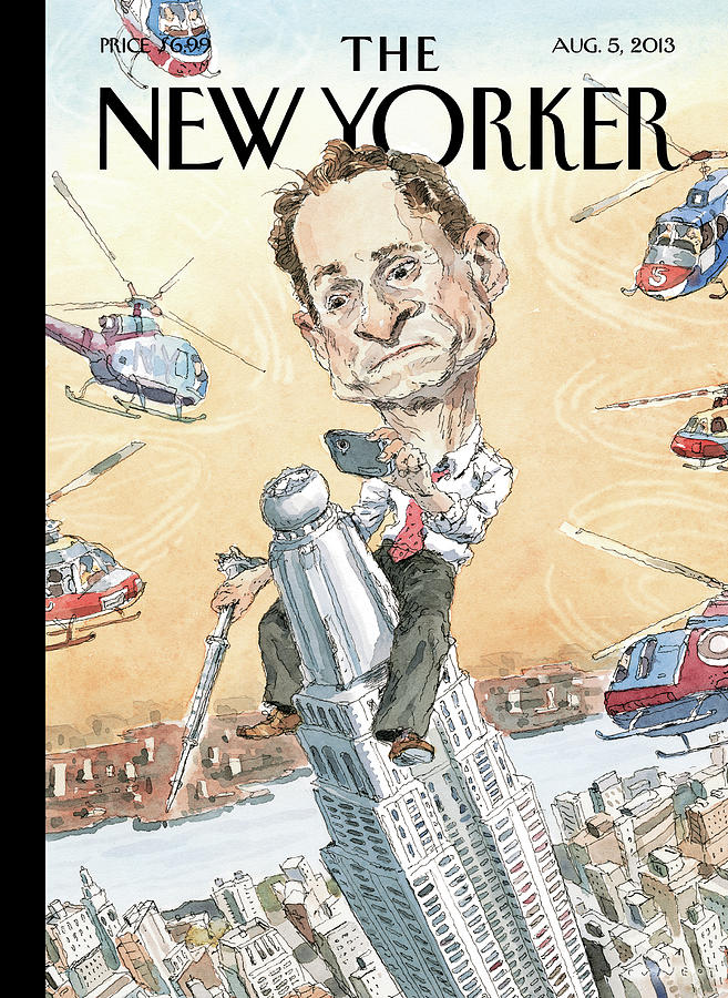 New Yorker August 5th, 2013 Painting by John Cuneo