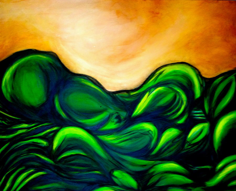 Landscape Painting - Untitled by Juliann Sweet
