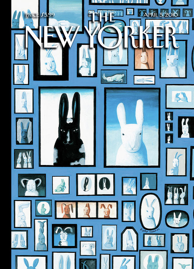 New Yorker April 5th, 2010 Painting by Kathy Osborn