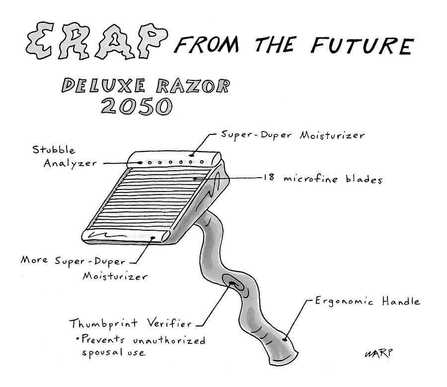 New Yorker May 14th, 2007 Drawing by Kim Warp