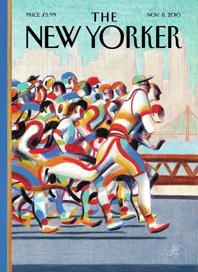 New Yorker November 8th, 2010 Painting by Lorenzo Mattotti