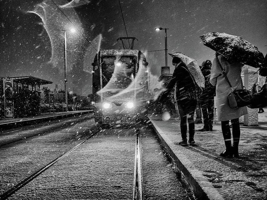 Street Photograph - Untitled by Maciej Przeklasa