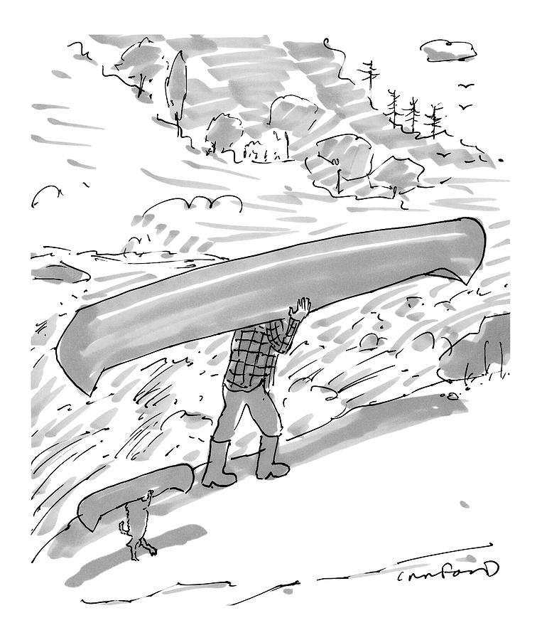 New Yorker October 17th, 2016 Drawing by Michael Crawford