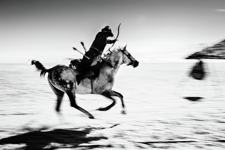 Action Photograph - Untitled by Murat Yilmaz