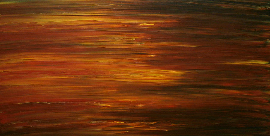 Sunset Painting - Untitled Painting 7 by Drew Shourd