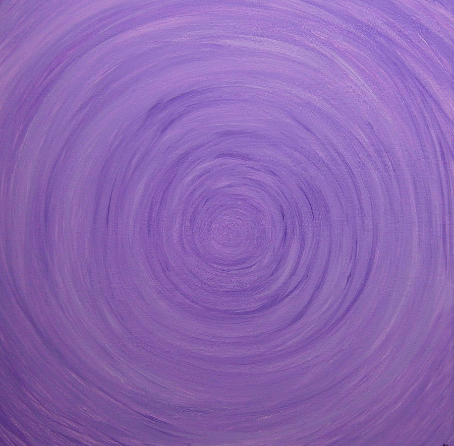 Purple Painting - Untitled Painting 9 by Drew Shourd