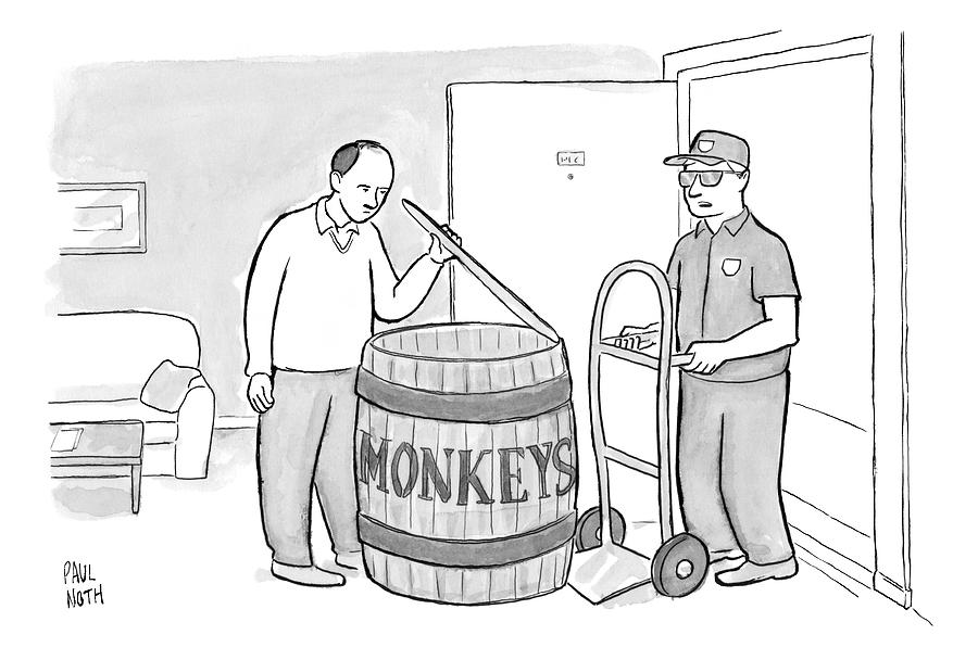 Add Your Own Caption Week # 247 Drawing by Paul Noth