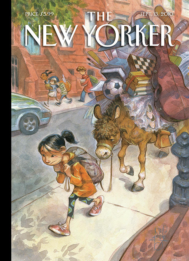 New Yorker September 13th, 2010 Painting by Peter de Seve
